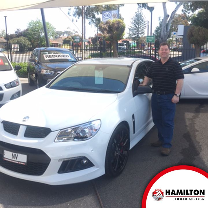 Congratulations on your new HSV!