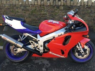 eBay: Kawasaki zx7r ZX7R Ninja classic 1996 model new mot 99 p start not enduro #motorcycles #biker