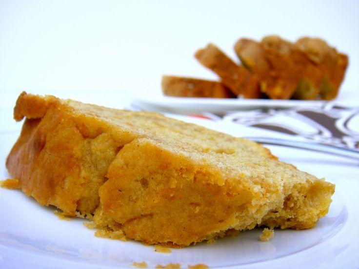 Cream Cheese Sweet Potato Pound Cake - YUM