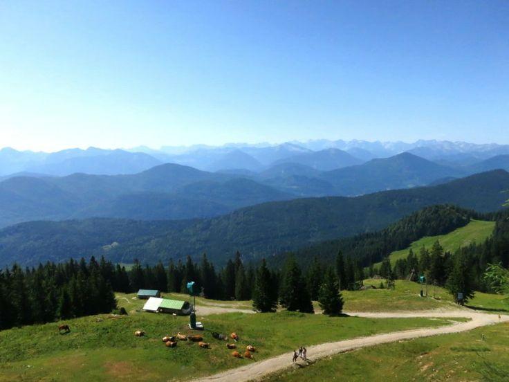 Brauneck Mountain, Munich, Germany | www.leadmeaway.com | #munich #germany #europe #summer #bavaria #brauneck #mountain #nature #scenery #green