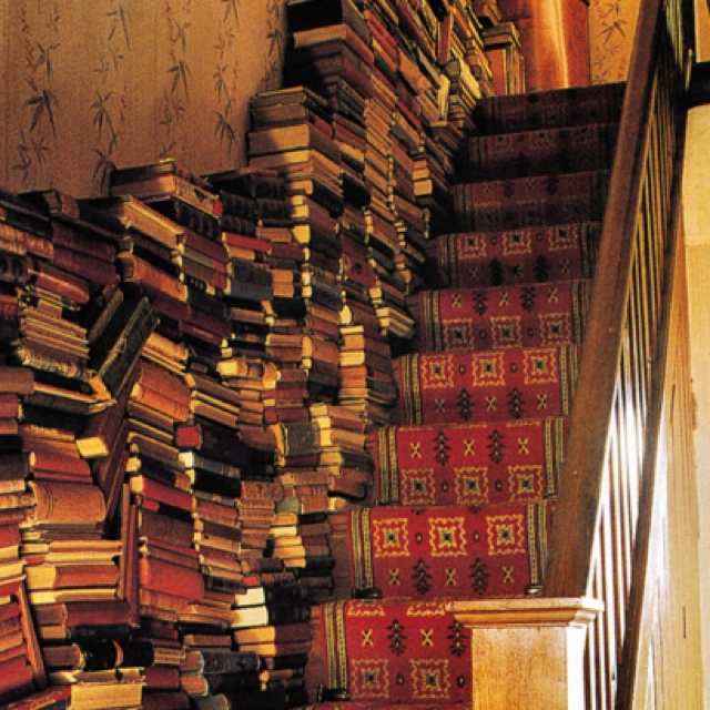 BOOKS/STAIRS: Books Stairs, Future Houses, Dreams Houses, Favorite Places, Panels Wall, Books Storage, Wood Panels