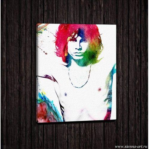 "Poster Jim Morrison Постер на холсте ""Джим Моррисон"""