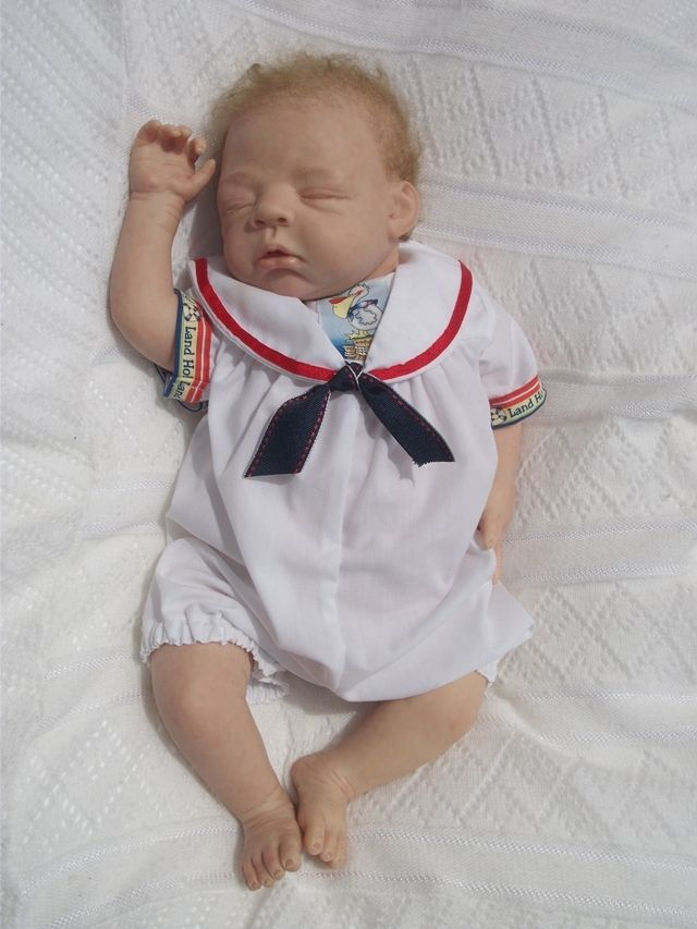 Baby Boy Romper Andrew Ships Ahoy Sailor  Portrait Tuppence Brand New Size 000