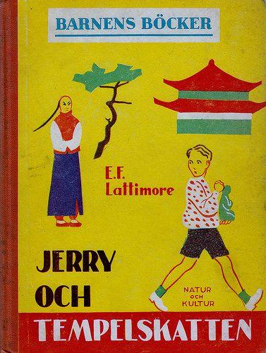 Jerry och tempelskatten av E.F. Lattimore