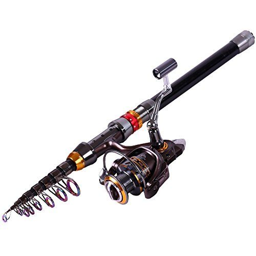 Best price on carbon telescopic fishing rod with 13bb for Fishing rod price