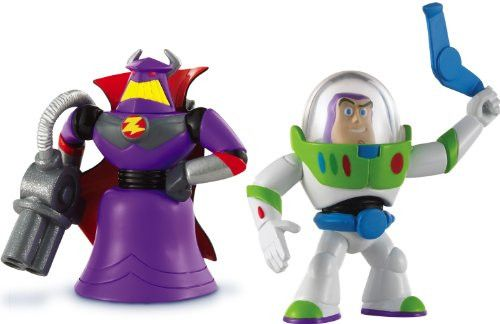 Disney Pixar Toy Story 3 Action Figure Buddy Pack - Grapnel Buzz and Blaster Zurg