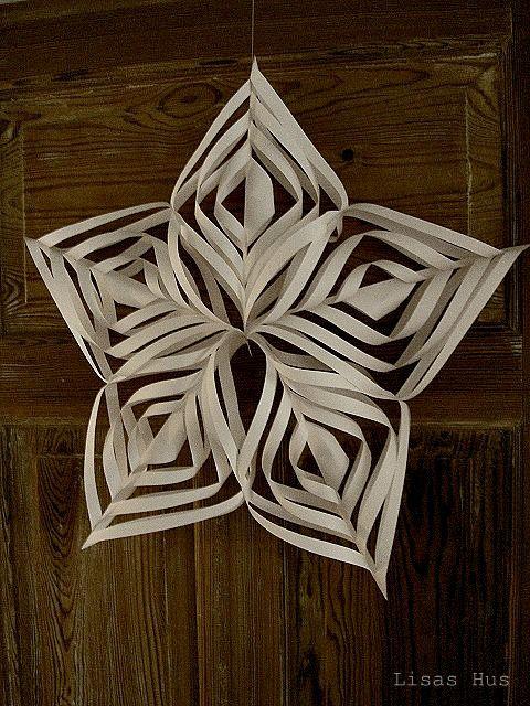 Tutorial: paper star / Tutorial: estrella de papel