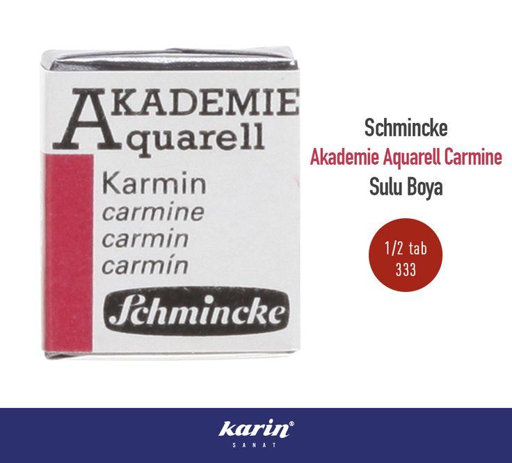 Schmincke Sulu Boya http://bit.ly/2gL2Aqk  #Schmincke #Akademie #Aquarell #Carmine #Suluboya #ResimMalzemeleri #KarinSanatMalzemeler #Art