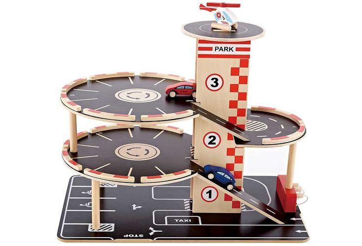 Garage en bois jouet hape - Garage en bois jouet Hape Garage et station service enfant - 59,80 €
