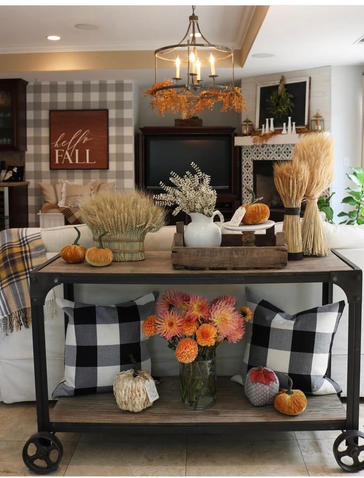 Fall decor ideas in 2019 Fall home decor, Autumn home
