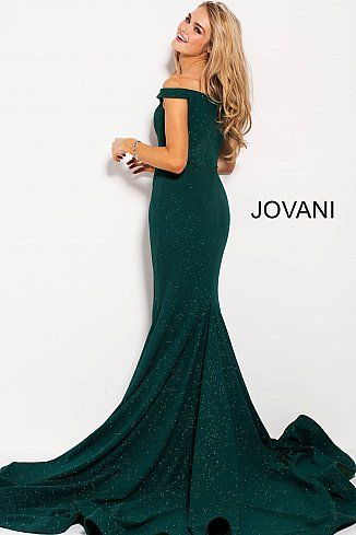 5961297f83f Hunter Glitter Off the Shoulder Sweetheart Neck Prom Dress 55187  Jovani   PromDress  EveningDress  fashion