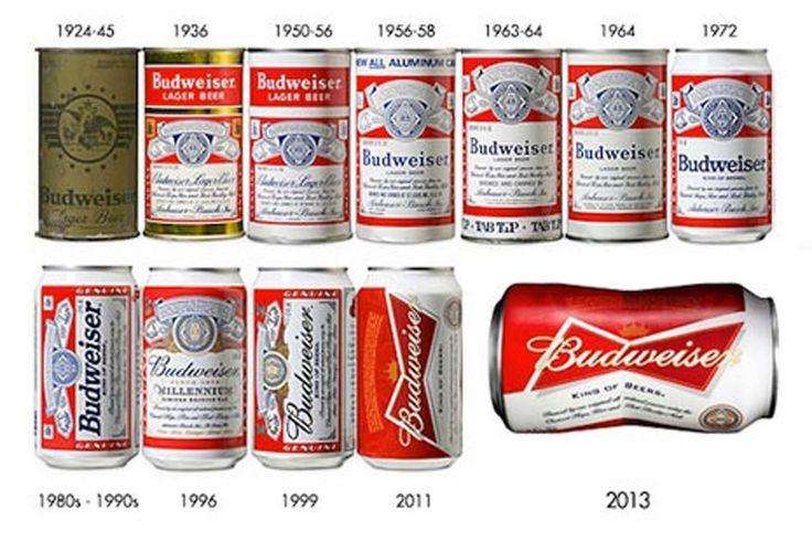 """La cerveza Budweiser es la marca más popular en los EEUU, lanza al mercado la primera lata con curvas, recreando su icónico logotipo con forma de pajarita que ahora los traslada a su packaging. Para diseñar estas originales latas de cerveza con """"curvas"""", Budweiser ha invertido no sólo tiempo y dinero sino que ha intentado también desafiar las leyes de la ingeniería. Y es que las nuevas latas de cerveza de Budweiser llevan aparejado un complejo proceso"""