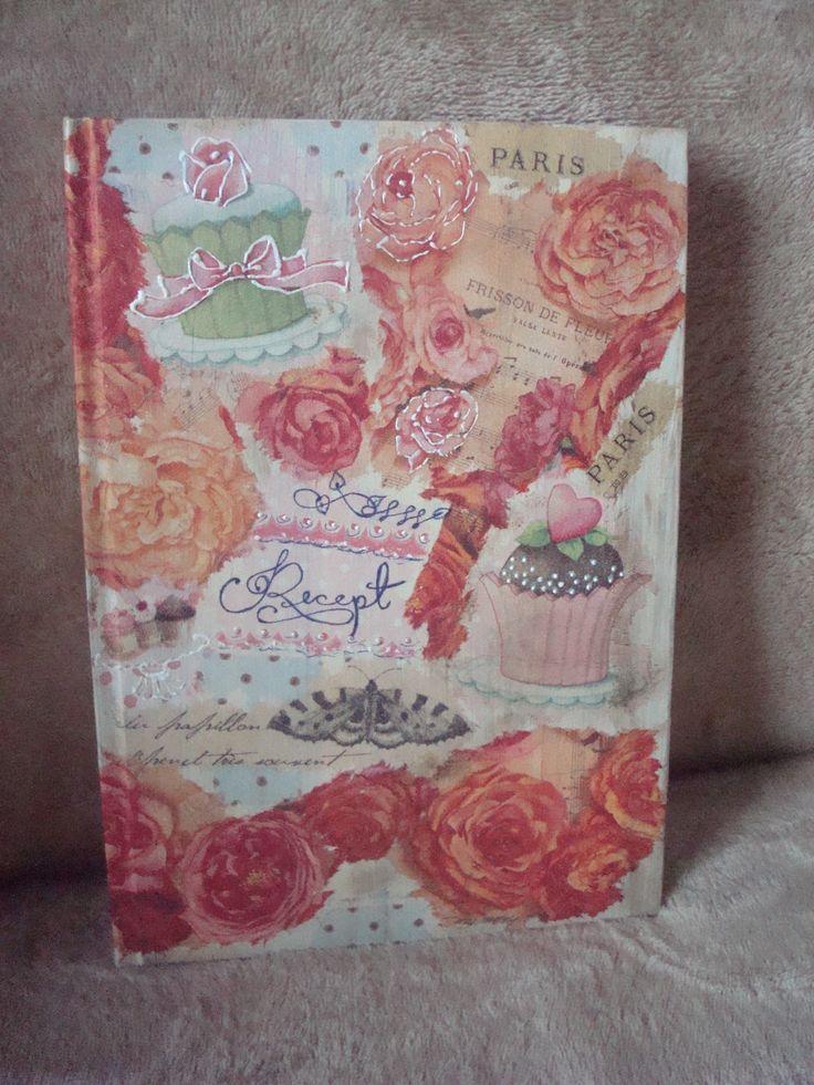 recipe book,recept könyv