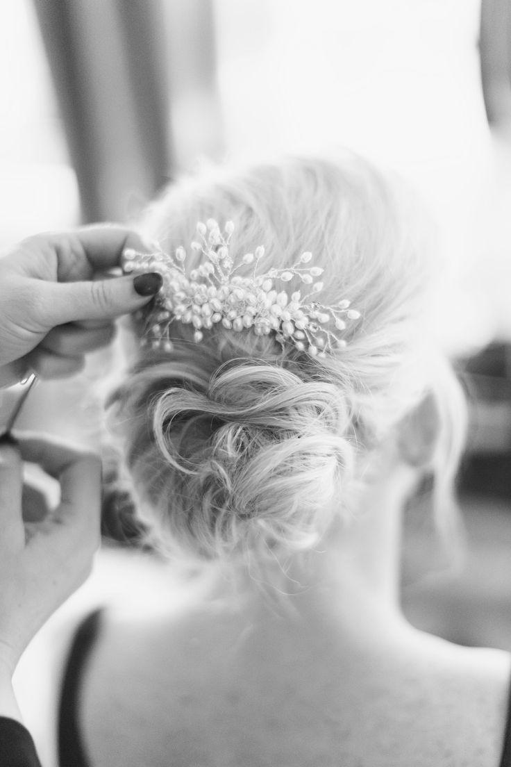 Wedding hair & comb - comb from Ritva Westenious London / Hair by Anne Marie Hair Salon
