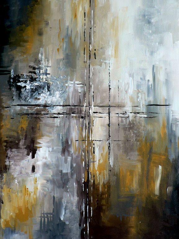 2644 best peinture, art abstrait images on Pinterest Abstract - primaire d accrochage peinture