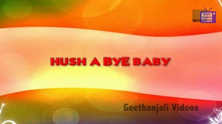 Hush a Bye Baby - Kids Nursery Rhymes Videos Online.  kids rhymes online, baby nursery rhymes, online nursery rhymes, english nursery rhymes, nursery rhymes videos, nursery rhymes youtube