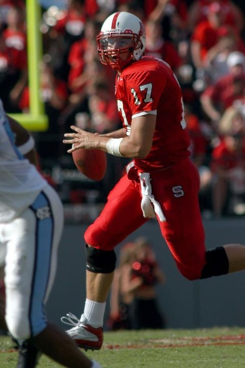Former NC State quarterback (and current San Diego Charger) Philip Rivers.