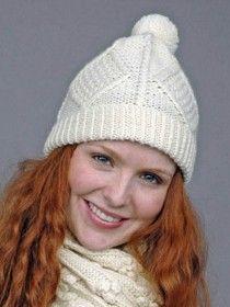 Aran Handknit Hat S167