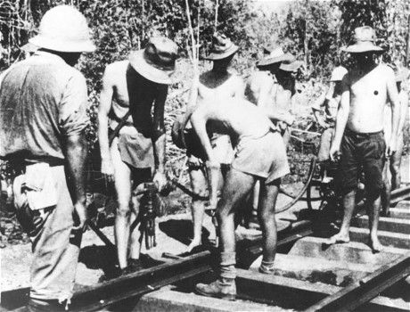 """Death Railway"": British POW Recalls Burma Railway Story - http://www.warhistoryonline.com/war-articles/death-railway-british-pow-recalls-burma-railway-story.html"