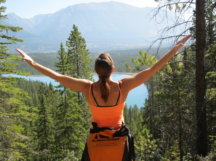 This is what reaching the top of the mountain feels like. #ExploreRockies