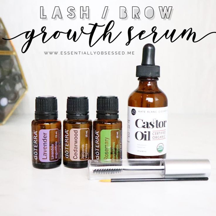 This blend is an incredible NATURAL Lash Boost or Brow