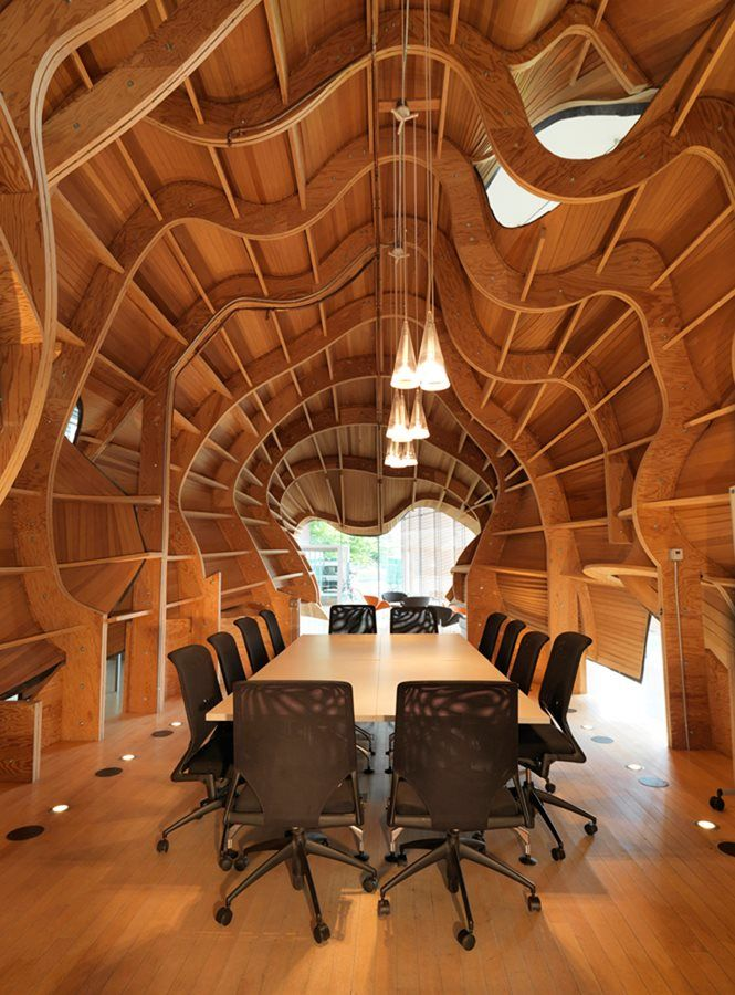 """Horse-Head Conference Room"" by Frank Gehr:::::Photo by Bruce M. White::::: Modernize your office space with www.seeyond.com"