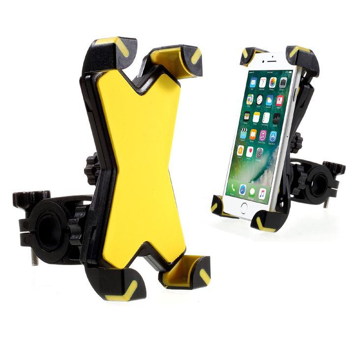 Universal Bicycle Motorcycle Mobile Cell Phone Mount Holder
