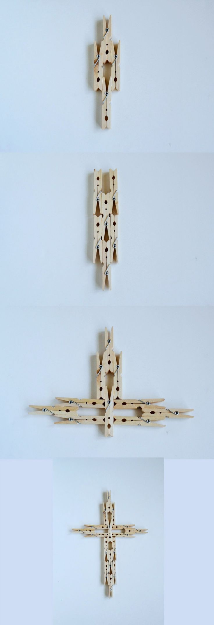 Clothespin Cross