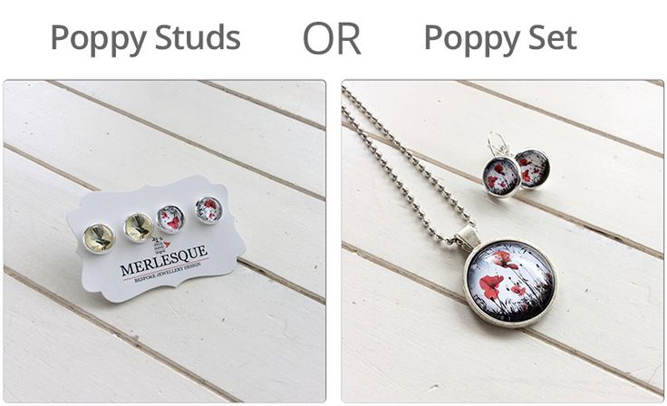 Enter to win: CHOOSE YOUR PRIZE!! WIN a beautiful Anzac Day Poppy Set or Poppy/Fantail Studs! | http://www.dango.co.nz/s.php?u=Nd8TBKfa3100