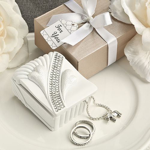 Bling Jewelry Box Wedding Favors