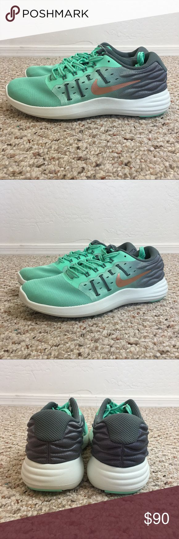 NIKE LUNARSTELOS RUNNING SHOE BRAND NEW WITHOUT BOX   SHOES ONLY  WOMENS NIKE LUNARSTELOS RUNNING SHOE  SIZE 8  SMOKE AND PET FREE HOME Nike Shoes Athletic Shoes
