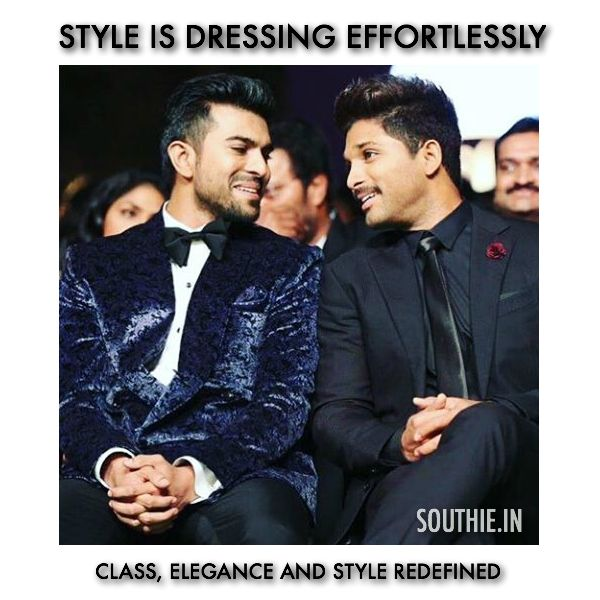 Ram Charan and Allu Arjun redefine style in South Cinema. Ram Charan and Allu Arjun have been seen as the most stylish and uber cool stars amongst the younger generation. Ram Charan upcoming movies, Ram Charan, Allu Arjun Upcoming movies, Sarrainodu, RC 10, RC 11, RC 12, Allu Arjun Trivikram Movie, Allu Arjun Vikram Kumar Movie, Latest trends of Ram Charan, Latest trends of Allu Arjun, Ram Charan Sukumar Movie, Ram Charan koratala Siva movie, Southie.in, Southie, South Indian Entertainment