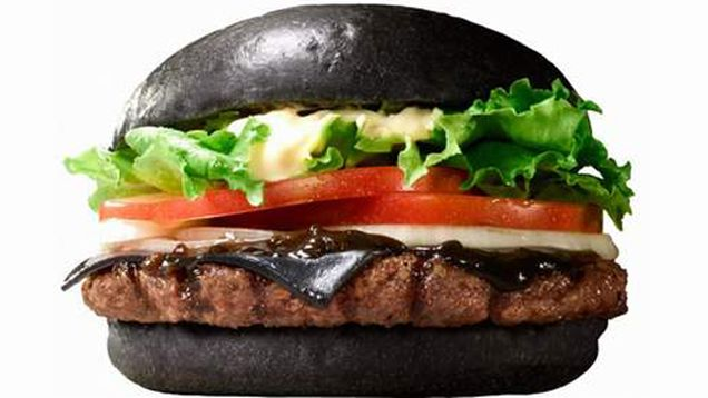In Japan, Burger King Has a Black Cheese Burger