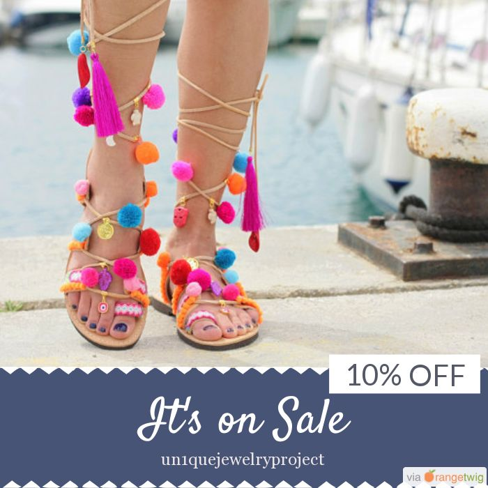 10% OFF on select products. Hurry, sale ending soon!  Check out our discounted products now: https://www.etsy.com/shop/un1quejewelryproject?utm_source=Pinterest&utm_medium=Orangetwig_Marketing&utm_campaign=just%20for%20today!!!!   #etsy #etsyseller #etsyshop #etsylove #etsyfinds #etsygifts #fashion #greeksandals #gladiators #sandalsph #sandalseason #sandalshoes #sandalsnegril #sandalslasource #sandalsfit #sandalsmontegobay #gladiatorsandalsph #sandalswomen #leathersandalsph…
