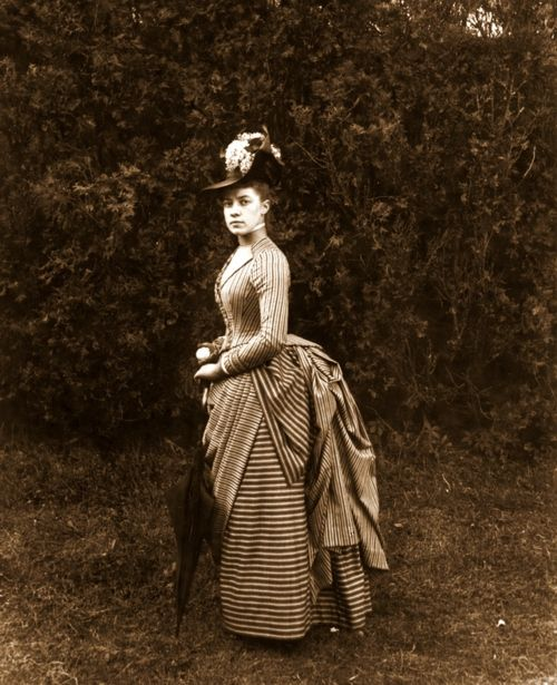 Miss E. Alice Austen, 1888 by Captain Oswald Müller