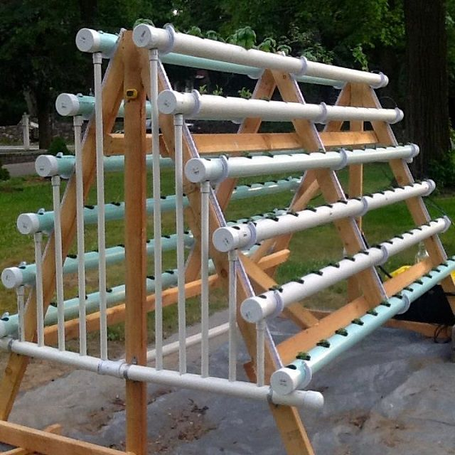 Diy Pvc Gardening Ideas And Projects: How To Grow 168 Plants In A 6 X 10 Space With A DIY A