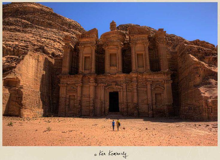 The Monastery or Ad-Deir in Petra, Jordan