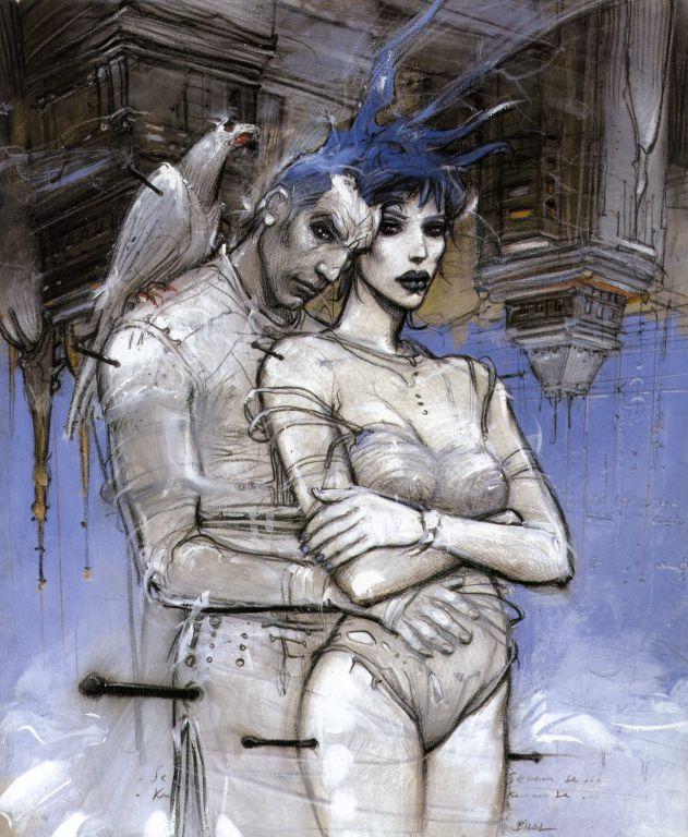 "From ""Visioni di fine milleno"" by Enki Bilal"