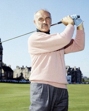 Sean Connery in St Andrews