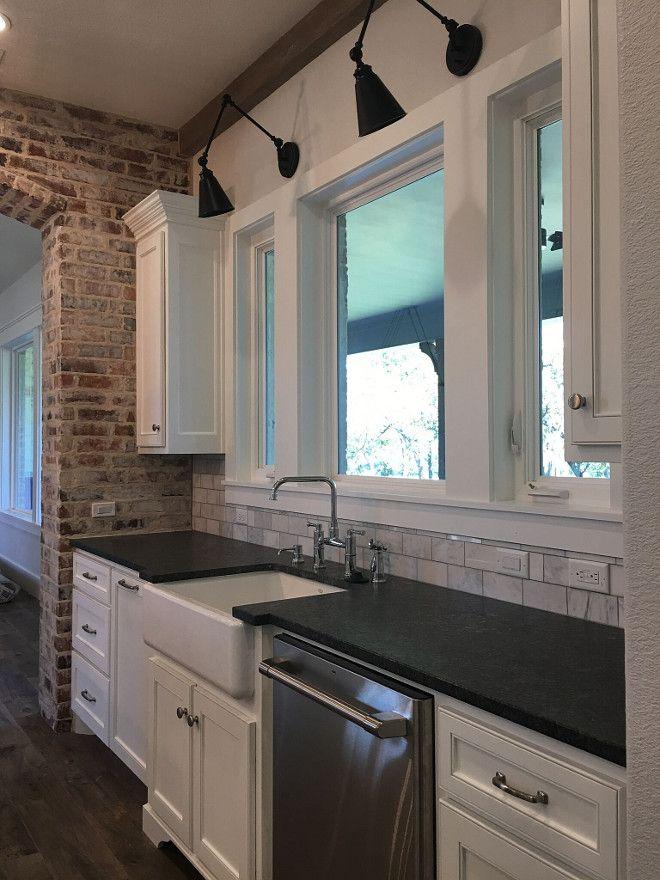 best modern farmhouse kitchens ideas on pinterest. Black Bedroom Furniture Sets. Home Design Ideas