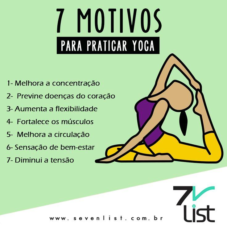 Motivos para praticar yoga