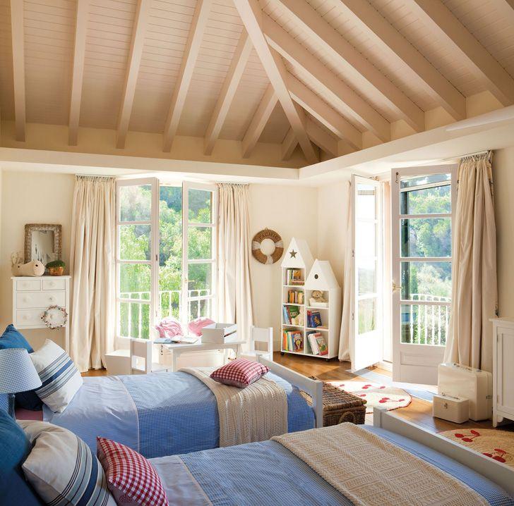 17 mejores ideas sobre habitaciones compartidas para ni os - Habitaciones juveniles clasicas ...