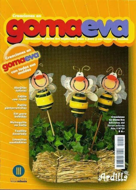 Como hacer abejas en foamy