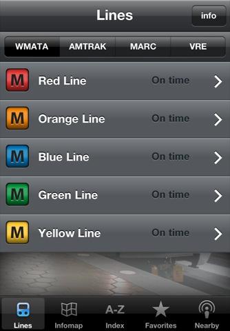 App Store - Infomaps Metro Washington DC