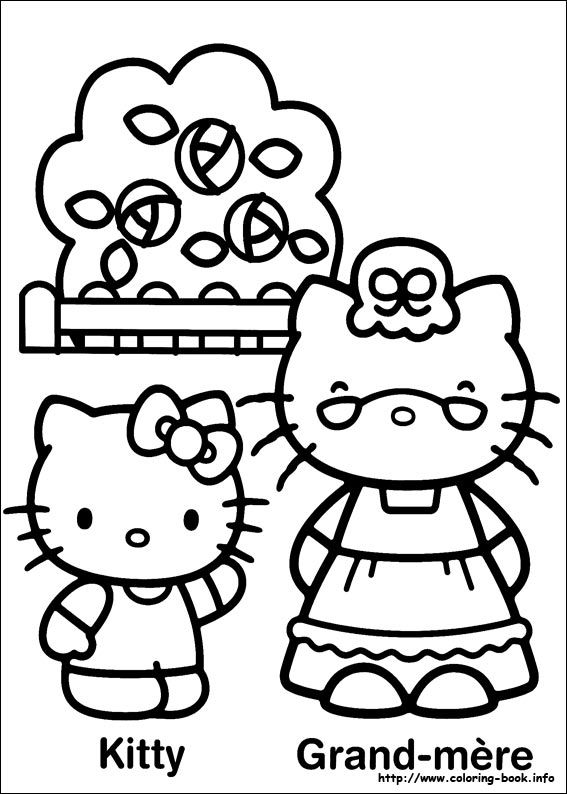 Free Printable Hello Kitty Coloring Pages Picture 48 Find This Pin And More