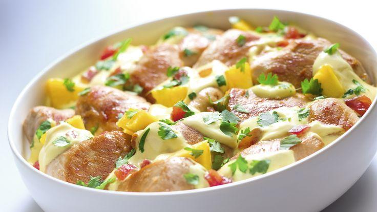 Masz ochotę na oryginalny przepis na kurczaka? Wypróbuj nasz doskonały przepis na kurczaka z Antyli, czyli kurczaka z kokosem i ananasem!