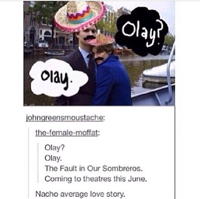 OMG THIS IS HILARIOUS. The fault in our stars humor