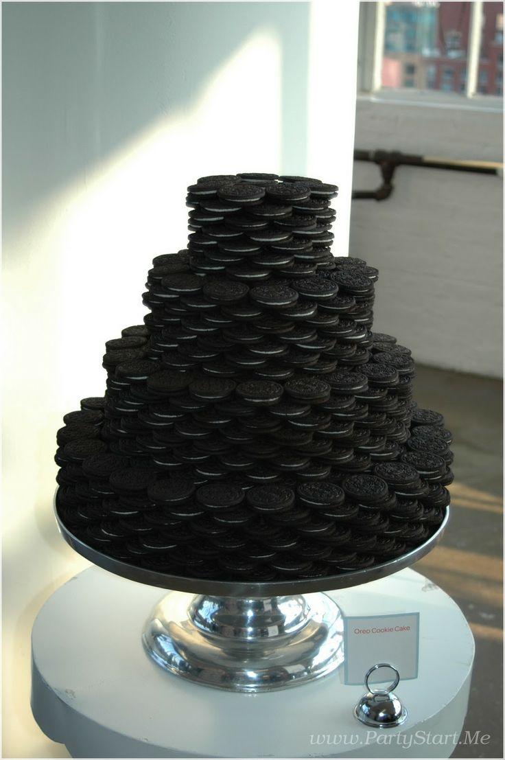 Awesome Oreo grooms cake. :)