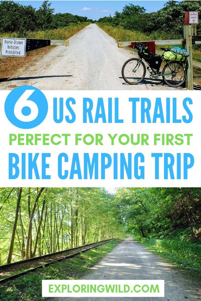 6 Long Rail Trails Perfect For Bicycle Touring In The Us Bike Trails Mountain Biking Touring