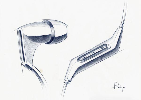 Random Pencil Sketches by Behzad Rashidizadeh, via Behance
